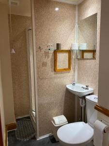 A bathroom at Old Palace Guest House