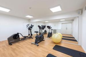 Gimnasio o instalaciones de fitness de Eurostars Mediterranea Plaza