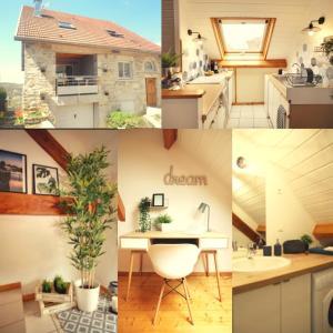 Cuisine ou kitchenette dans l'établissement Duplex Vauban - Home-one