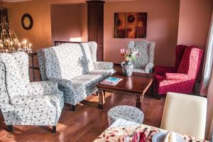 Un lugar para sentarse en Chalten Suites Hotel
