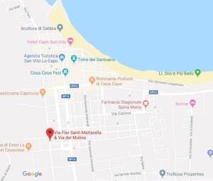 Vista aerea di Case Colombo e Mattarella