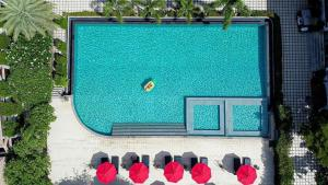 A view of the pool at Samui Boat Lagoon or nearby