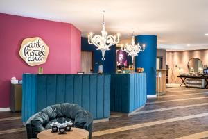 The lobby or reception area at Arthotel ANA Soul Oberhausen