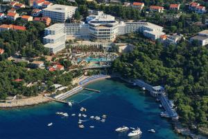 A bird's-eye view of Amfora Hvar Grand Beach Resort