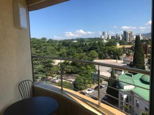 Балкон или терраса в Apartment Studia Versal Na Nesebrskoy 14