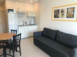Кухня или мини-кухня в Apartment Studia Versal Na Nesebrskoy 14