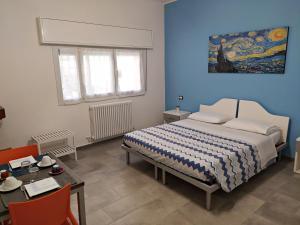 Letto o letti in una camera di ROOM AND BREAKFAST SAN RAFEL