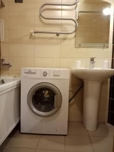 Ванная комната в Apartment-studio on Ryleeva 15