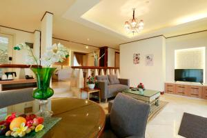 Zona de estar de R Hotel Rancamaya