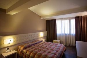 Cama o camas de una habitación en Hotel Norden Palace