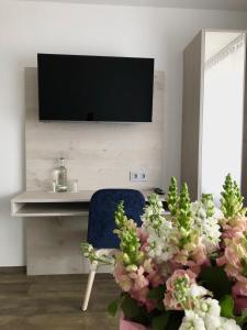 TV/Unterhaltungsangebot in der Unterkunft Hotel Kranenborgh