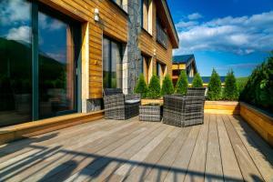Balkón alebo terasa v ubytovaní Apartments Pemikas