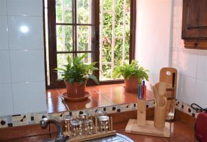 A kitchen or kitchenette at La Palma Nature Relax