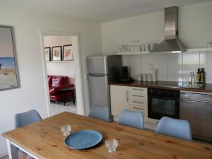 Küche/Küchenzeile in der Unterkunft Odas Feriendomizil