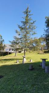 Un jardín fuera de Casas de Raco