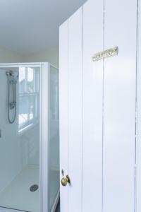 A bathroom at The Greytown Hotel