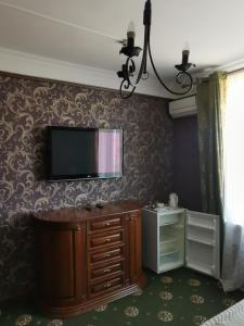 A television and/or entertainment center at Hotel Central