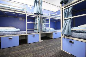 Un ou plusieurs lits superposés dans un hébergement de l'établissement Smart Hyde Park Inn Hostel