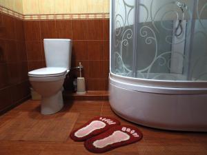 Ванная комната в apartment na Zavetnoi