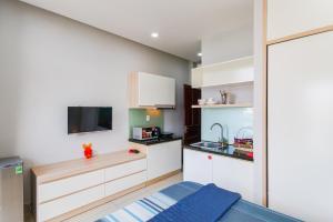 Nhà bếp/bếp nhỏ tại GEM Apartment