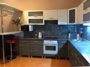 Кухня или мини-кухня в Apartment Gut