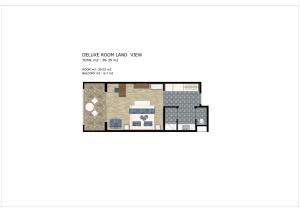 Планировка Rubi Platinum Spa Resort & Suites
