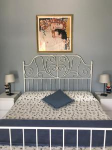 Letto o letti in una camera di Bed and Breakfast da Beatrice