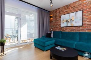 Posezení v ubytování Nadmorskie Tarasy - Apartments M&M