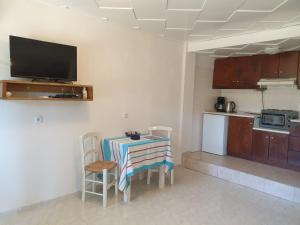 A kitchen or kitchenette at Apartments Xenophon