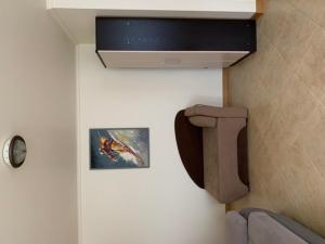 Телевизор и/или развлекательный центр в Apartment on Chaykovskogo