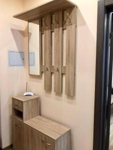Ванная комната в Апартаменты на Окружной