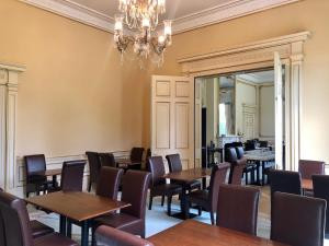 A restaurant or other place to eat at Netley Hall Hotel