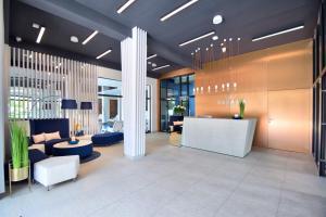 The lobby or reception area at Savana Resort Mielno