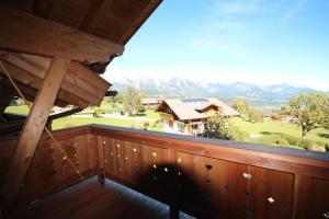 Balkón nebo terasa v ubytování Ski in/Ski out Chalets Tauernlodge by Schladming-Appartements