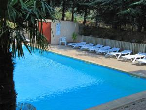The swimming pool at or near RESIDENCE TORRE DEL FAR