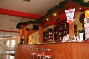 Lounge nebo bar v ubytování Milotín