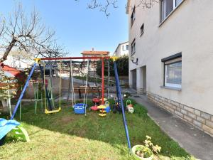 Children's play area at Cosy Holiday Home in Zadar with Garden
