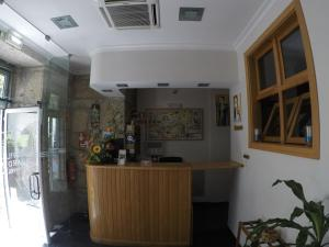 The lobby or reception area at Hotel Covilhã Jardim