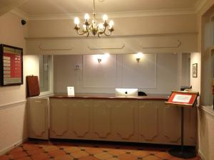 The lobby or reception area at The Royal Victoria & Bull Hotel