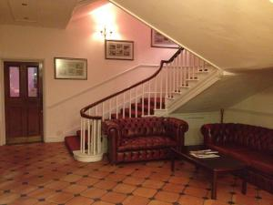 A seating area at The Royal Victoria & Bull Hotel