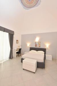 Cama ou camas em um quarto em Amalfi Casa Angelina