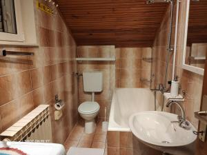 A bathroom at Apartmani Matija