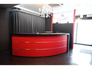 The lobby or reception area at Art Inn Namba