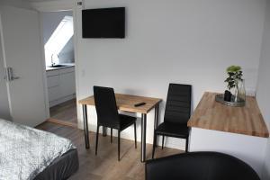 Spiseplads på bed & breakfast-stedet