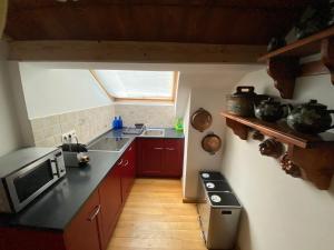 A kitchen or kitchenette at St. Anton