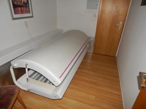 Ein Bett oder Betten in einem Zimmer der Unterkunft Hotel-Lindenhof
