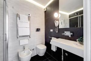 Um banheiro em Albergo Abruzzi
