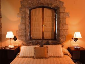 Cama o camas de una habitación en Hotel Boutique & Spa El Privilegio