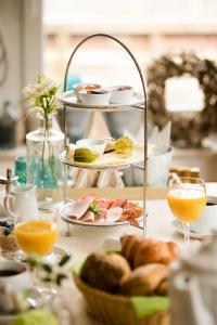 Frühstücksoptionen für Gäste der Unterkunft Pension Kerckenhof