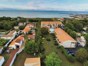 Vue panoramique sur l'établissement Hotel L'Oceane